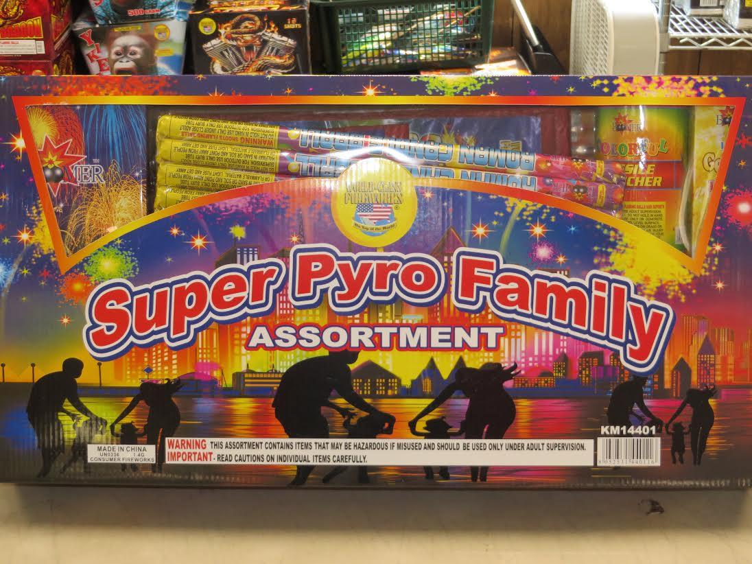 Super Pyro Family Assortment